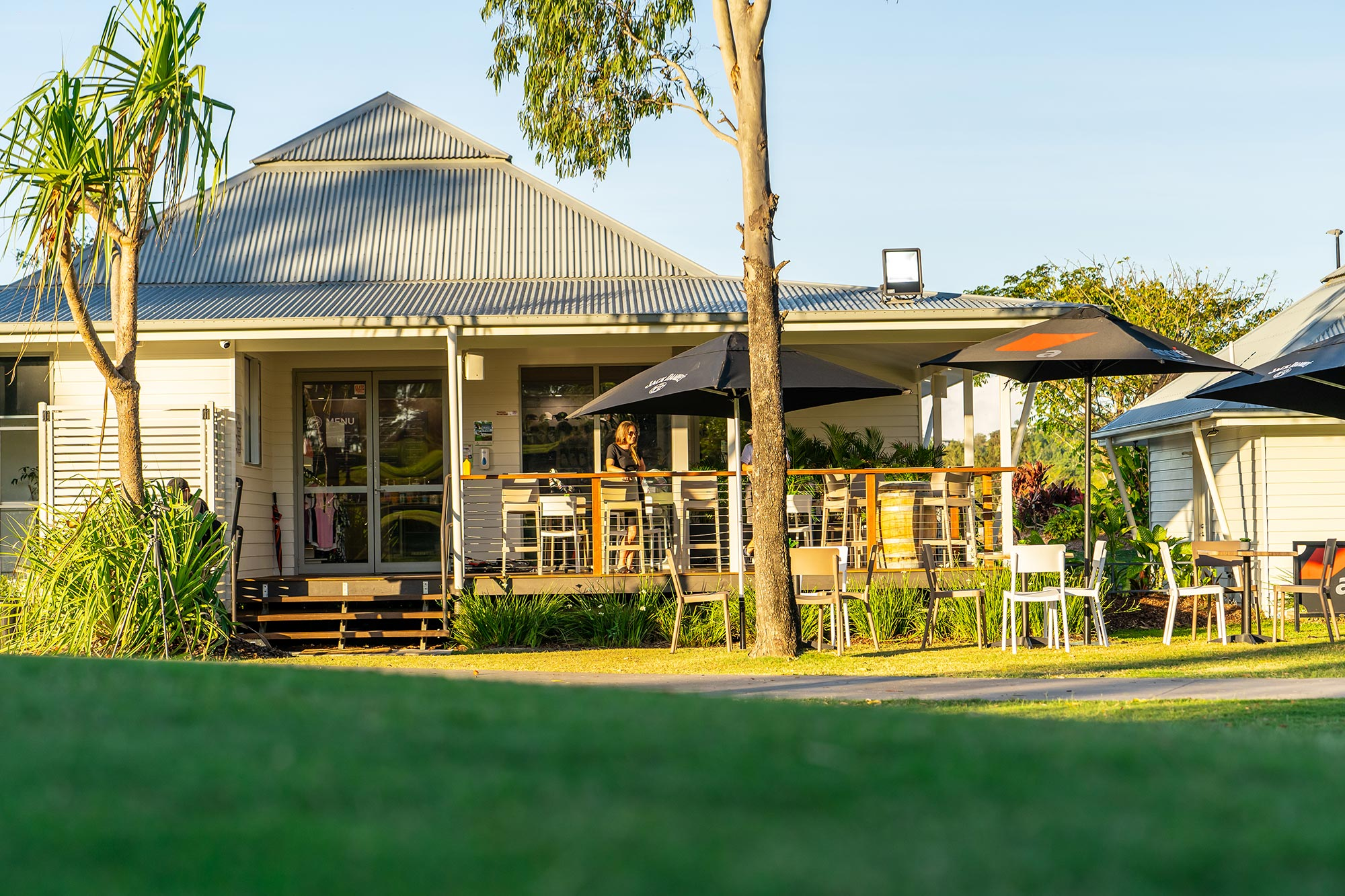 Clubhouse Cafe at Whitsunday Green Club
