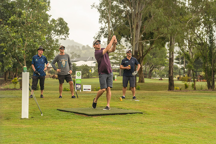 Whitsunday Green Club Championship - Rob Lodders, Danny Goody, Clint Paull and Justin Butler