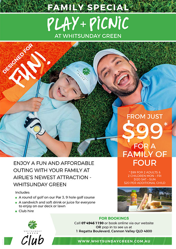 Whitsunday Green - Club Family Special